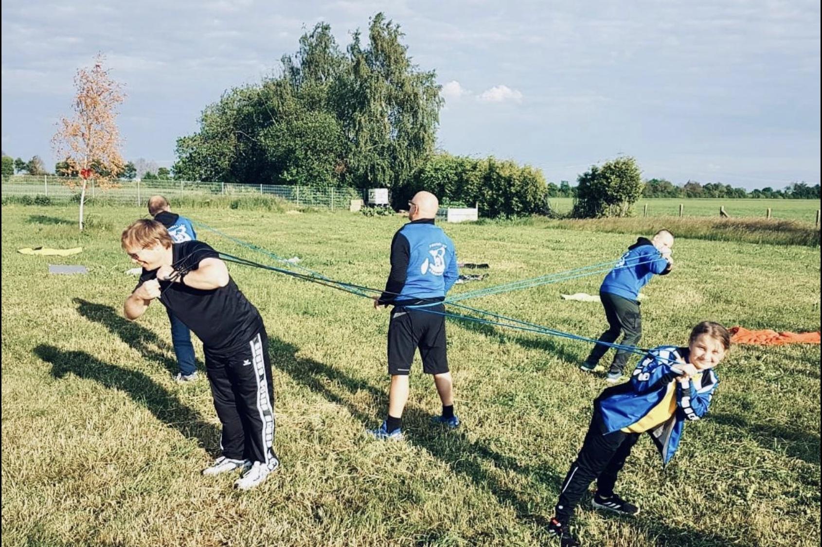 Königsbrunner Polizei-Judoka trotzen der Corona-Zeit und legen wieder los